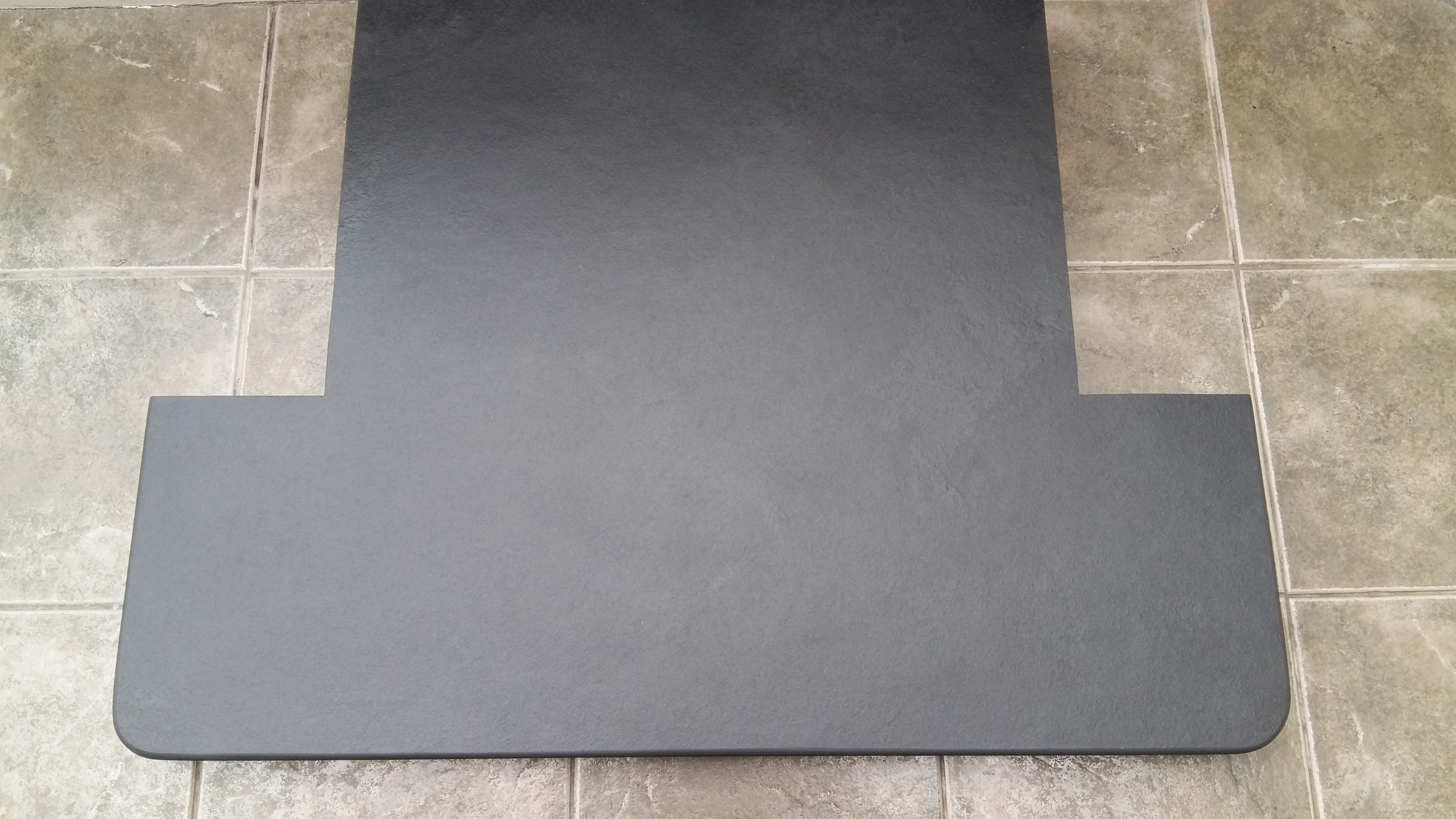 custom slate hearths u2013 made to measure brazilian grey slate