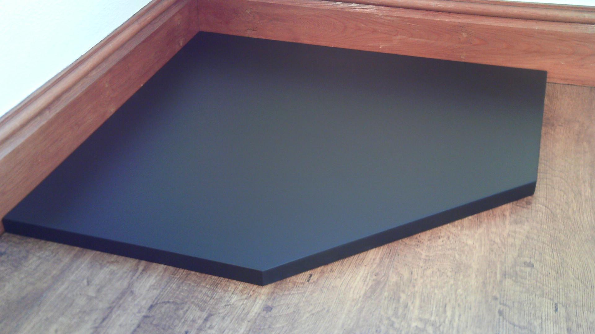 Custom Slate Hearths Made To Measure Italian Black Slate