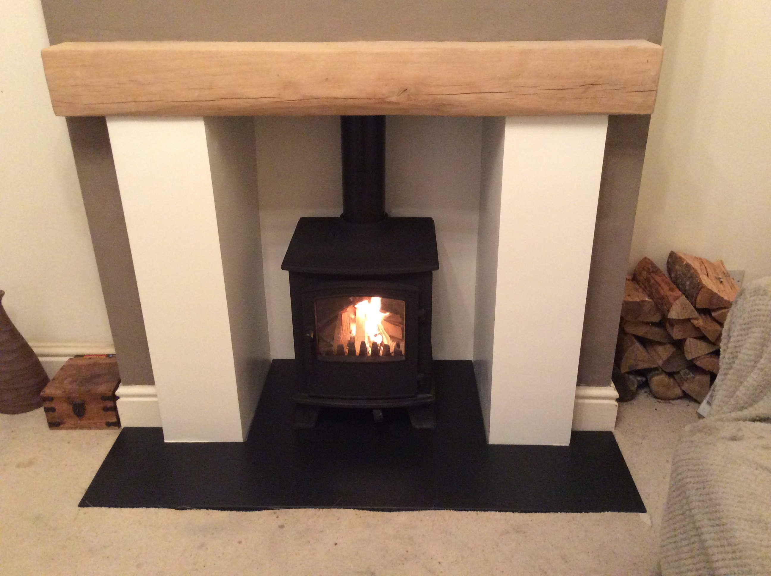 Custom Slate Hearth Made To Measure Slate Hearths Uk